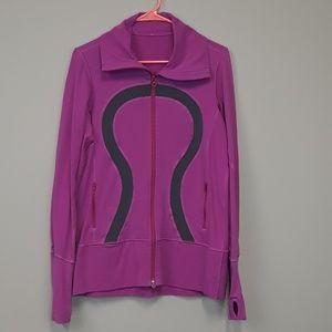 Lululemon Pink zip up sweatshirt